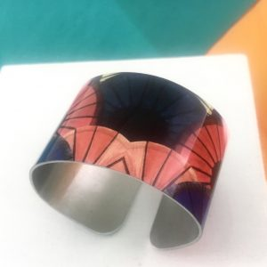 Aluminium Printed 'Hoi An Umbrellas' Bangle