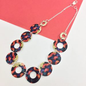 Hot An Umbrellas Link Necklace – Monica Boxley