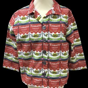 'Warhol' soup jacket